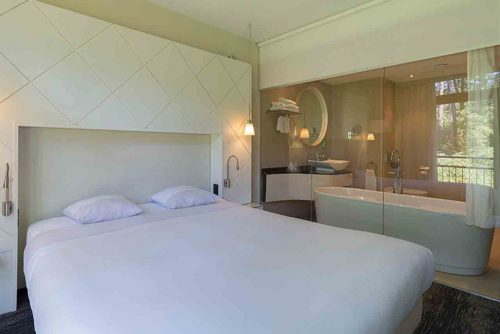 Fletcher hotel met bad in kamer in Eindhoven