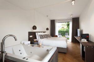 Hotelkamer met jacuzzi Ameland