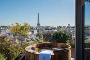 Luxe hotel met jacuzzi Parijs