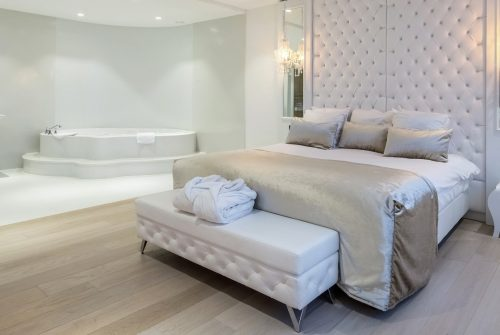 Hotelkamer met Bubbelbad en sauna in Utrecht
