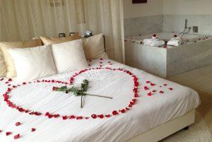 Romantisch Hotel valkenburg met jacuzzi op kamer