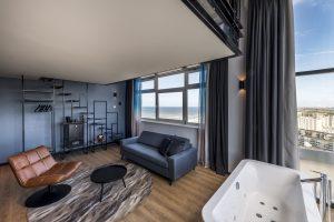 Hotel met jacuzzi op kamer aan zee in Zandvoort