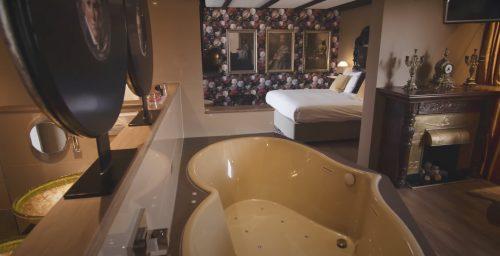 Hotelkamer met jacuzzi Utrecht