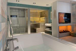 Van der Valk hotel met sauna op kamer
