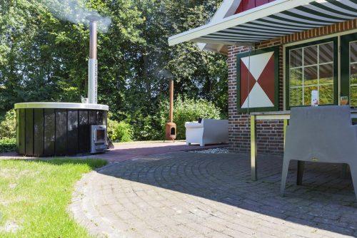 Huisje met hot tub en sauna vlakbij Winterswijk