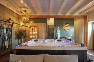 Huisje met jacuzzi en sauna in Overijssel