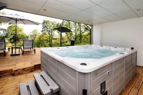 Vakantiehuis met jacuzzi en Sauna België