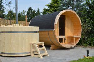 Vakantiehuisje met jacuzzi en sauna in Putten