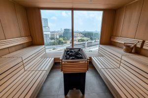 Wellness hotel met sauna Amsterdam