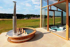 Huisje met Hot Tub en jacuzzi in Limburg