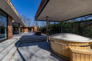 Huisje met hot tub in de Brabantse bossen