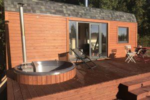 Huisje met hot tub voor 2 personen in België