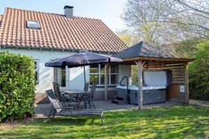 Huisje met jacuzzi op Landal Hoog Vaals