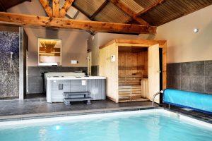 Huisje Ardennen met jacuzzi, sauna en zwembad
