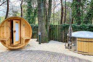 Huisje met Hottub en Sauna in Limburg