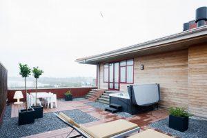 Huisje met jacuzzi bij het Veluwemeer voor 6 personen