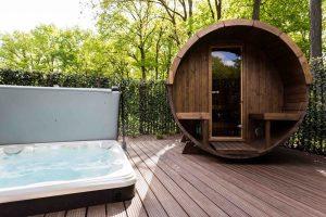 Huisje met jacuzzi en sauna op de Veluwe