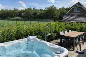 Huisje met jacuzzi in Drenthe