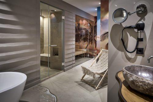 Romantisch overnachten in de Beach Suite met jacuzzi, sauna en stoomcabine
