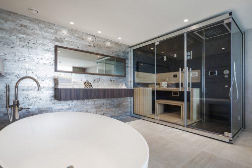 Romantische overnachting met privé sauna en groot bad