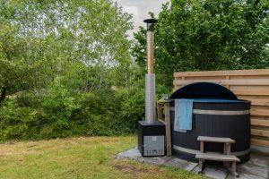 Roompot huisje met hottub in Groningen