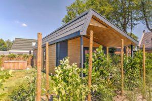 Tiny house met jacuzzi in Brabant