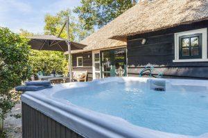 Huisje met Jacuzzi en Sauna voor 8 personen in Overijssel