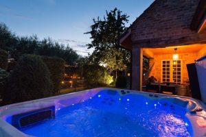 Huisje met Jacuzzi vlakbij Brugge België