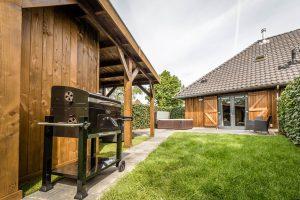 Huisje met Jacuzzi voor twee personen in Maastricht