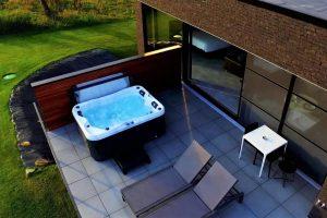 Huisje met Sauna en Jacuzzi 2 personen Ardennen