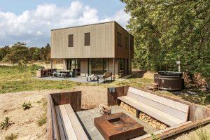 Natuurhuisje met Hottub in Zeegser Duinen voor 8 personen