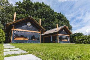 Natuurhuisje met Hottub voor twee stellen