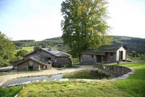 Natuurhuisje met Jacuzzi en Sauna in de Belgische Ardennen voor 12 personen