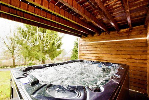 Natuurhuisje met Jacuzzi en Sauna in Durbuy België