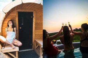 Natuurhuisje met Jacuzzi, Sauna en Zwembad in Poperinge België