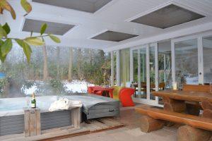 Natuurhuisje met Jacuzzi voor twee personen in Kalheupinkpark Overijssel