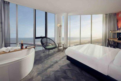 Hotel met Jacuzzi en Sauna op de kamer in Den Haag - Scheveningen