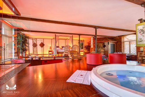 Hotelsuite met Sauna en Jacuzzi in de Ardennen