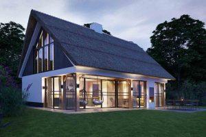 Huisje met Sauna voor 6 personen op Texel