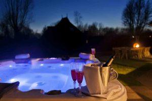 Huisje met Jacuzzi en Sauna voor 8 personen in Friesland