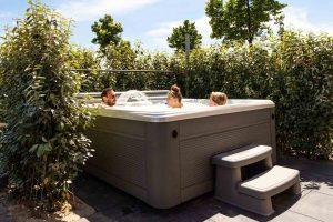 Wellness huisje met jacuzzi en sauna voor 7 personen