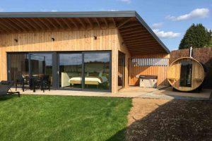 Natuurhuisje met jacuzzi en sauna voor 2 personen in de Ardennen