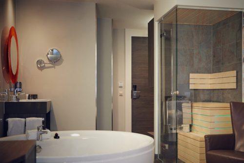 Hotelkamer met jacuzzi in het centrum van Amsterdam