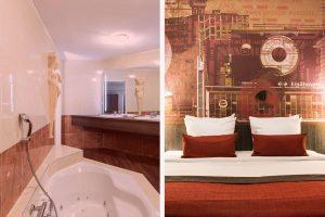Crown Hotel Eindhoven met jacuzzi op kamer