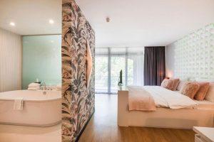 Hotel met jacuzzi en sauna op de kamer nabij Antwerpen