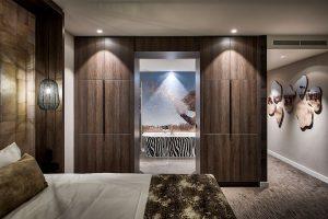Van der Valk Safari suite met bubbelbad in Tilburg